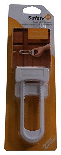Safety 1st Cabinet Slide Lock, Pack of 2 Dorel 0011002
