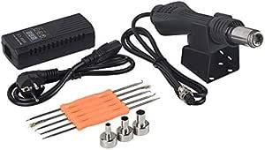 Portable Soldering Station 220v Bga Rework  Hot Air Blower Heat Gun 8858 Better