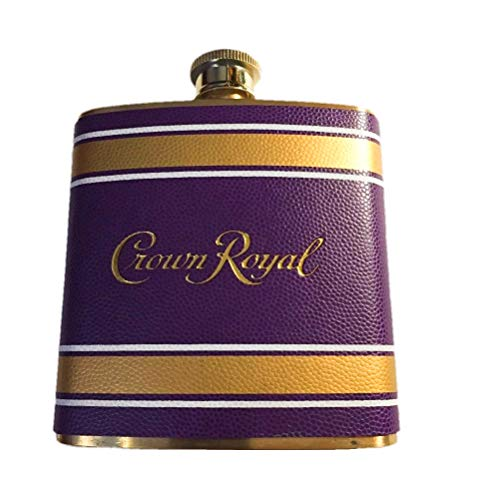 Crown Royal Football Texture Flask ()