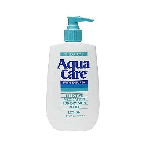 Aqua Care Lotion For Dry Skin, With 10 Percent Urea - 8 Oz