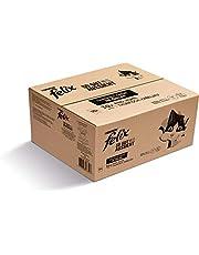 FELIX Zo goed als het eruit ziet kattenvoer nat in gelei, variëteitenmix, verpakking van 120 (120 x 85 g)
