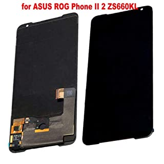 """for ASUS ROG Phone Ⅱ ZS660KL Phone 2 Phone2 i001DB 6.59"""" LCD Display Digitizer Touch Screen Assembly Black Replacement Part"""