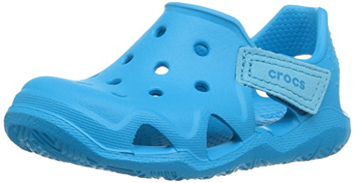 Crocs Kids' Swiftwater Wave, Ocean, 13 M US Little Kid
