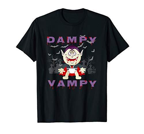 (Baby Vampire in Cemetery Halloween T)