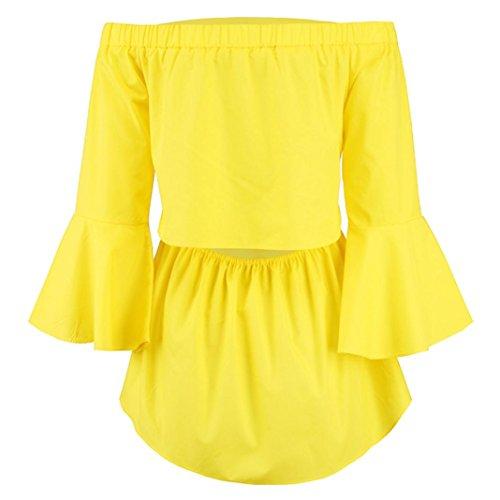 SANFASHION Ballerine Damen Multicolore Bekleidung Multicolore SANFASHION Donna Shirt155 F6UBBq