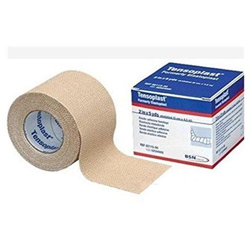 Tensoplast Elastic Athletic Tape, 2'' x 5 yd, Tan (Pack of 24)