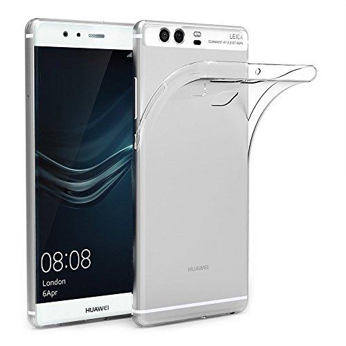 ZOFEEL Funda para Huawei P9 Ligera como el Aire, Carcasa Protectora Resistente a los arañazos de TPU Transparente Ligera y...
