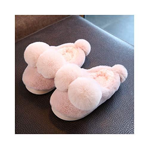 Gaohui Salle Antidérapant Chaudes Mode Enfants Slippers En Chaussons Pink Coton La Chaussures qqHrB