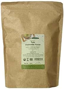 Davidson's Tea, Tulsi Chamomile Flower, 16-Ounce Bag