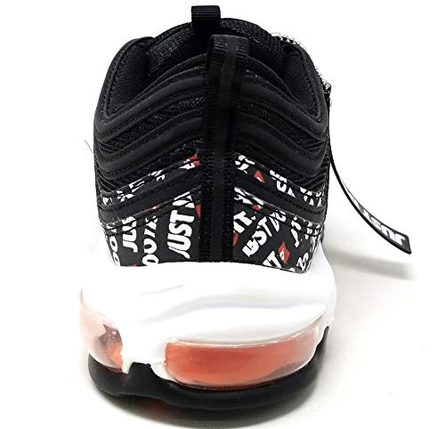 001 White 97 Multicolore Nike Scarpe Black Total Orange Uomo Air Max Running Black q7wEwaP
