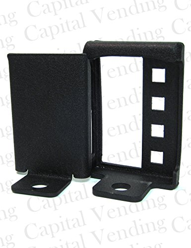 - Protective Cover & Flush Mount Hasp for Non-Protruding T Handle Locks - For Vending, Bill Changers, ATM