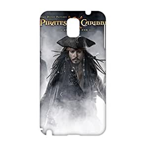 Cool-benz johnny depp pirates the caribbean (3D)Phone Case for Samsung Galaxy note3