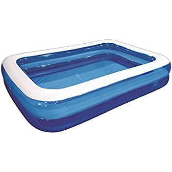 this item giant inflatable kiddie pool family and kids inflatable rectangular pool 10 feet long 120 x 72 x 20