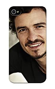 Ybyuvi-2596-zafbjsp Exultantor Awesome Case Cover Compatible With Iphone 5/5s - Orlando Bloom Man Face Smile Celebrities Men
