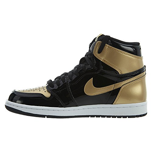 Metallic Black Schuhe Sneaker Air Gold Black 1 NRG Retro Jordan High OG wqaxagvFz