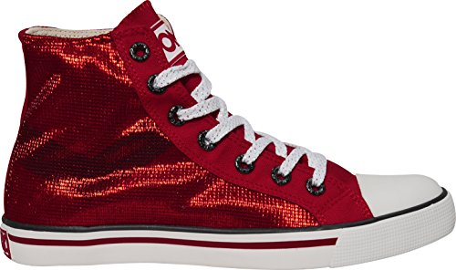 Femme Pour Red Baskets Pony Mode Rouge EqRWAwz0B