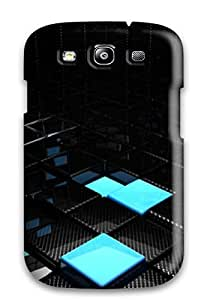 Durable Protector Case Cover With Cube Abstract Hot Design For Galaxy S3