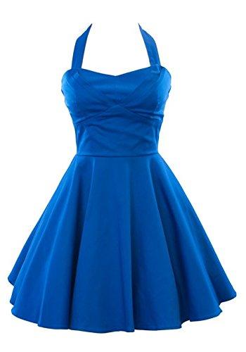 Ixia-Retro-Pinup-Solid-Vintage-Aline-Dress