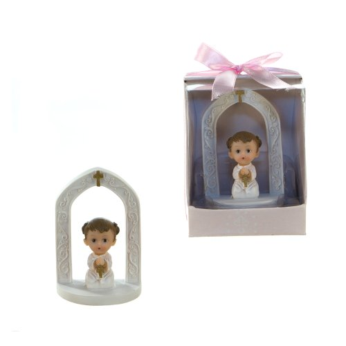 "Lunaura Religious Keepsake - Set of 12 ""Girl"" Baby Prayin..."