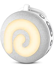 White Noise Machine - Dreamegg Portable Sound Machine for Baby Kids, Noise Machine for Sleeping, Night Light, 11 Soothing Sounds, Volume Control, Child Lock, USB Rechargeable Sound Machine for Travel