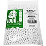 Bulldog - [1000] Airsoft Pellets [0.20g] Biodegradable [6mm White] Triple Polished [Pro Team Grade]