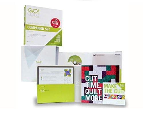 [해외]하루의 이불 추천 - AccuQuilt GO! /Quilt in a Day Recommended- AccuQuilt GO! Qube 12 Inch Companion Die Set 55782