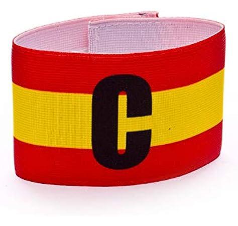 Mercury Capitán España, Brazalete, Rojo-Amarillo: Amazon.es: Deportes y aire libre