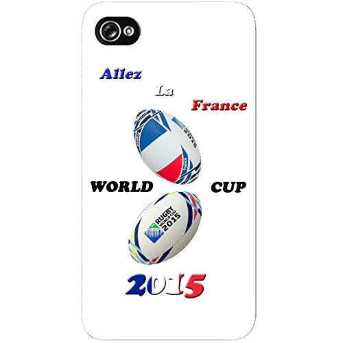 Coque Apple Iphone 4-4s - France Rugby 2015