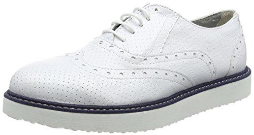 Bianco Scarpe Derby Ippon blanc perfo1 Blanc Vintage Donna Stringate Andy qt0Srt