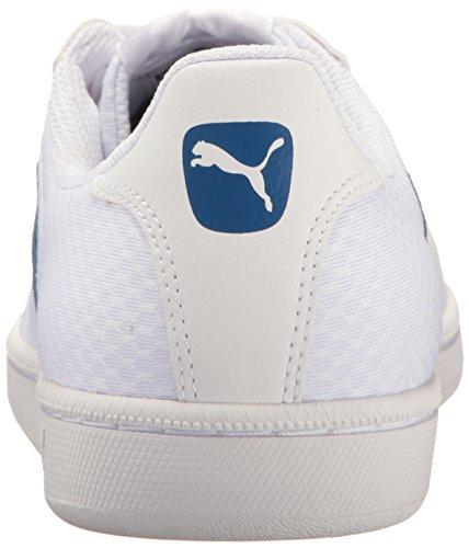 Puma Smash Cat Mesh Moda Sneaker Puma Bianco-blu Vero