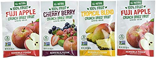 Sensible Foods Crunch Dried Fruit, 20 Count (6 Boxes) by Sensible (Image #1)