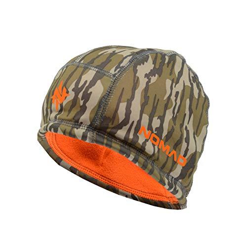 Nomad Men's Standard Reversible Fleece Beanie, Mossy Oak Bottomland, OSFA