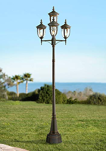 Bellagio Outdoor Post Light Veranda Bronze 102