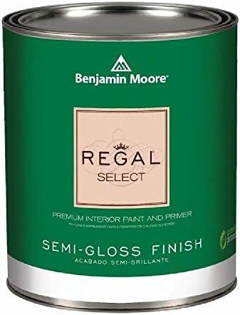 ベンジャミンムーアペイント リーガル セレクト セミグロス 半艶 水性塗料 1637 blue spruce 1L