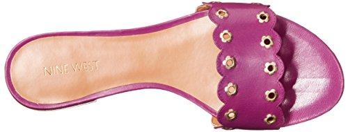 de sandalia cuero Frogprince Purple West Nine Ufqw87tt