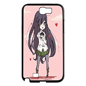 Samsung Galaxy Note 2 Cases Hanako Cute, Katawa Shoujo Cases Sexyass, {Black} by ruishername