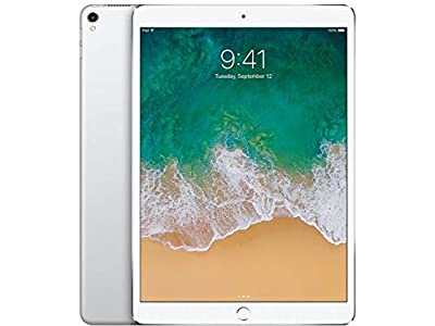 "Apple iPad Pro (2017) 10.5"" 64GB Wi-Fi Tablet, Silver (Refurbished)"