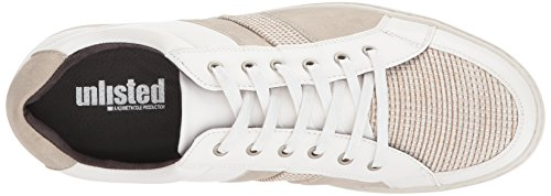 Unlisted by Kenneth Cole Mens Plott Sneaker White zrgd4