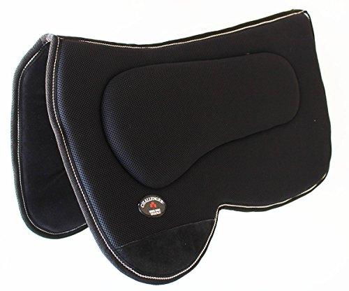 ProRider Western Horse SADDLE PAD Western Saddle Pad with Antislip Memory Foam Black 3964>