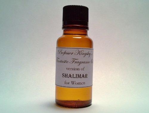 1/2 Oz Designer Fragrance Perfume (Professor Kingsley's Impression of Shalimar for Women. Concentrated Fragrance Oil. (1/2 oz Concentrated)