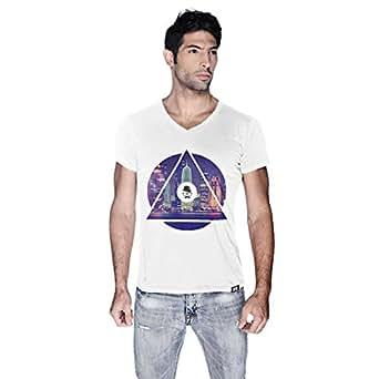 Creo Doha T-Shirt For Men - M, White