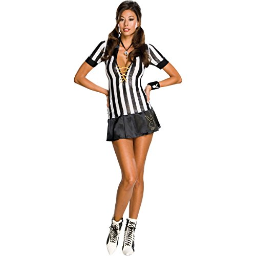 Secret Wishes Women's Playboy Adult Referee Costume, Multicolor, X-Small
