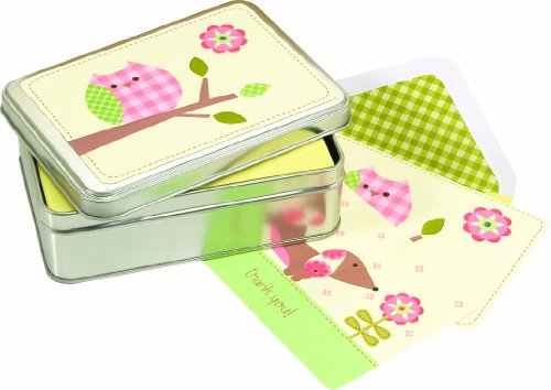 Pepper Pot Tin Box Notecard, Sweet Baby Girl, Health Care Stuffs