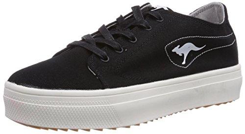 KangaROOS K-Mid Plateau 5071 - zapatilla deportiva de lona mujer negro - Schwarz (black 500)
