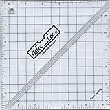 Bloc Loc~6.5'' Half Square Triangle Ruler, Acrylic Ruler