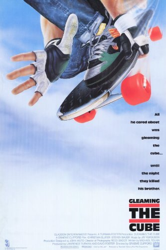 Gleaming the Cube Placard Movie 11x17 Christian Slater Steven Bauer Min Luong Art Chudabala