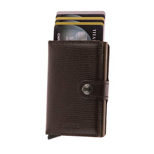Secrid Men Slim Wallet Genuine Leather RFID Card Case Max 12 Cards