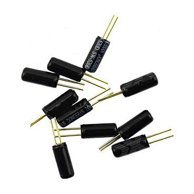 Lacoste Ball Switch / Angle Switch / Tilt Switch / Vibration Switch - Black (10 PCS)