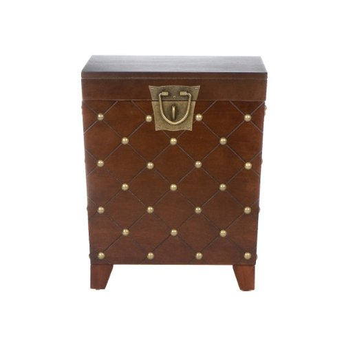 037732062259 - Caldwell Trunk End Table Espresso carousel main 4