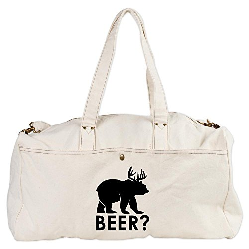 duffel-duffle-bag-deer-plus-bear-equals-beer